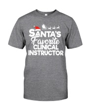 Santa's favorite Clinical Instructor Classic T-Shirt thumbnail
