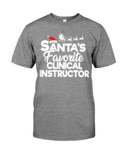 Santa's favorite Clinical Instructor Premium Fit Mens Tee thumbnail