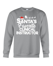 Santa's favorite Clinical Instructor Crewneck Sweatshirt thumbnail