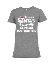 Santa's favorite Clinical Instructor Premium Fit Ladies Tee thumbnail