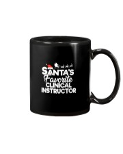 Santa's favorite Clinical Instructor Mug thumbnail