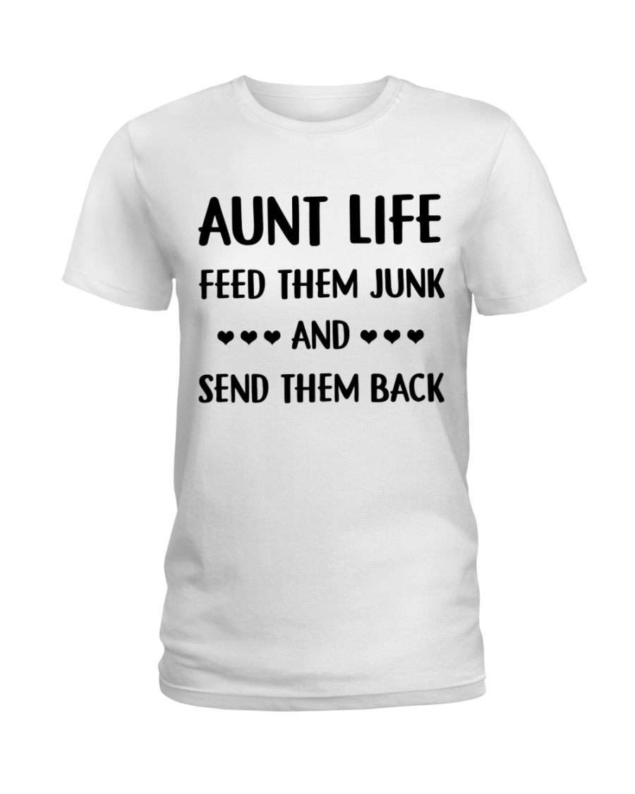 Cool Auntie Ladies T-Shirt