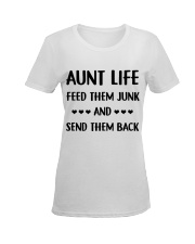 Cool Auntie Ladies T-Shirt women-premium-crewneck-shirt-front