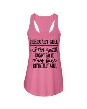 February Ladies Flowy Tank thumbnail