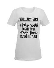 February Ladies T-Shirt women-premium-crewneck-shirt-front