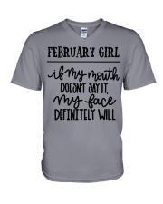 February V-Neck T-Shirt thumbnail