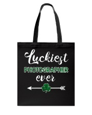 Luckiest Photographer Ever Tote Bag thumbnail