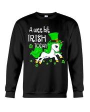 A wee bit irish today Unicorn Crewneck Sweatshirt thumbnail