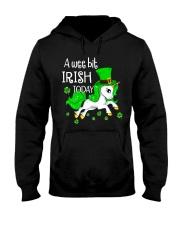 A wee bit irish today Unicorn Hooded Sweatshirt thumbnail