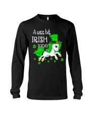 A wee bit irish today Unicorn Long Sleeve Tee thumbnail