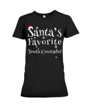 Santa's favorite Youth Counselor Premium Fit Ladies Tee thumbnail