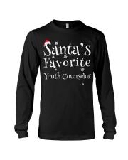 Santa's favorite Youth Counselor Long Sleeve Tee thumbnail