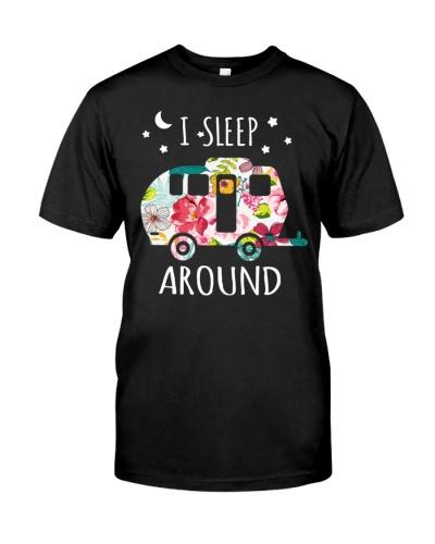 I sleep around