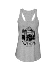 Not all those who wander are lost Ladies Flowy Tank thumbnail