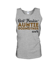 Best Freakin' Auntie and Godmother Ever Unisex Tank thumbnail