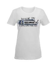 Arkansas Ladies T-Shirt women-premium-crewneck-shirt-front