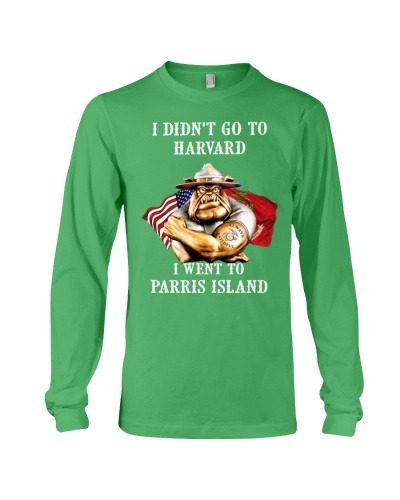 I went to Parris Island