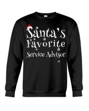 Santa's favorite Service Advisor Crewneck Sweatshirt thumbnail