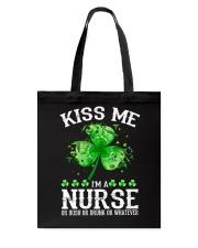 Kiss me - I'm a Nurse Tote Bag thumbnail