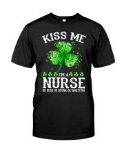 Kiss me - I'm a Nurse Classic T-Shirt thumbnail