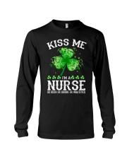 Kiss me - I'm a Nurse Long Sleeve Tee thumbnail