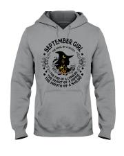 September Hooded Sweatshirt front