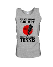 Grumpy Tennis Unisex Tank thumbnail