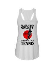 Grumpy Tennis Ladies Flowy Tank thumbnail