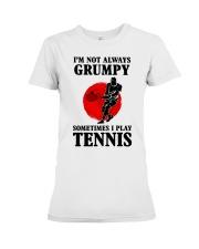 Grumpy Tennis Premium Fit Ladies Tee thumbnail