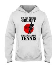 Grumpy Tennis Hooded Sweatshirt thumbnail