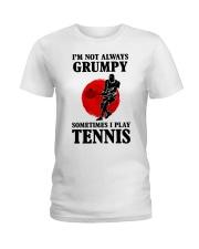Grumpy Tennis Ladies T-Shirt front