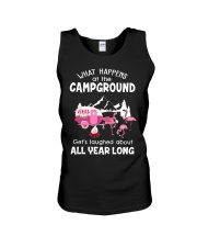 What happens at campground Unisex Tank thumbnail