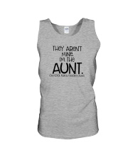 The cool fun and favorite Aunt Unisex Tank thumbnail
