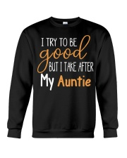 Auntie and Niece try to be good Crewneck Sweatshirt thumbnail