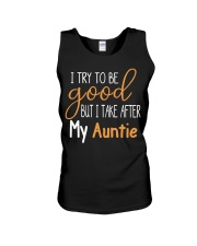 Auntie and Niece try to be good Unisex Tank thumbnail