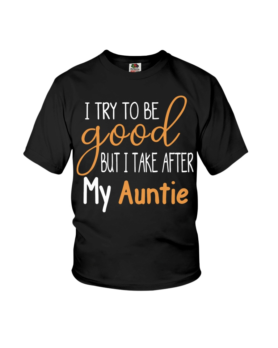 Auntie and Niece try to be good Youth T-Shirt