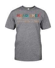 Vintage Head Chef Classic T-Shirt thumbnail