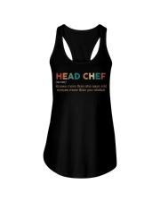 Vintage Head Chef Ladies Flowy Tank thumbnail