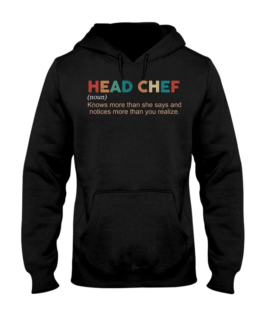 Vintage Head Chef Hooded Sweatshirt