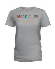 Vintage Head Chef Ladies T-Shirt thumbnail
