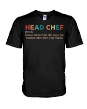 Vintage Head Chef V-Neck T-Shirt thumbnail