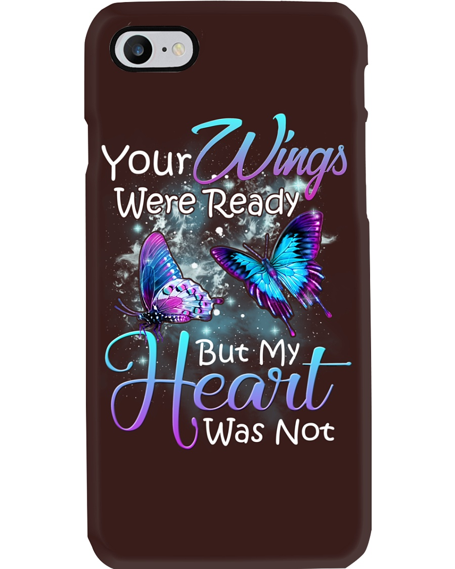 In loving memory angel butterfly Phone Case