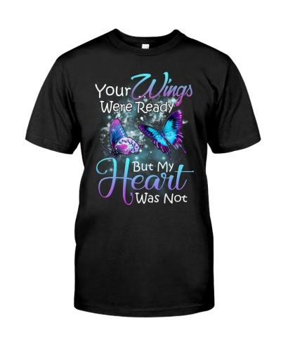 In loving memory angel butterfly