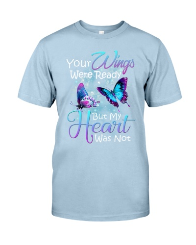 In loving memory angel butterfly