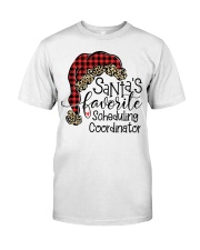 Santa's favorite Scheduling Coordinator Classic T-Shirt tile