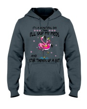 Funny Flamingo lovers Hooded Sweatshirt thumbnail