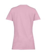 Funny Flamingo lovers Ladies T-Shirt women-premium-crewneck-shirt-back