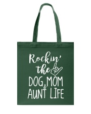 Puppy Dog Mom and Aunt Life Tote Bag thumbnail