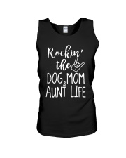 Puppy Dog Mom and Aunt Life Unisex Tank thumbnail