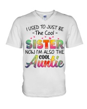 Auntie V-Neck T-Shirt tile